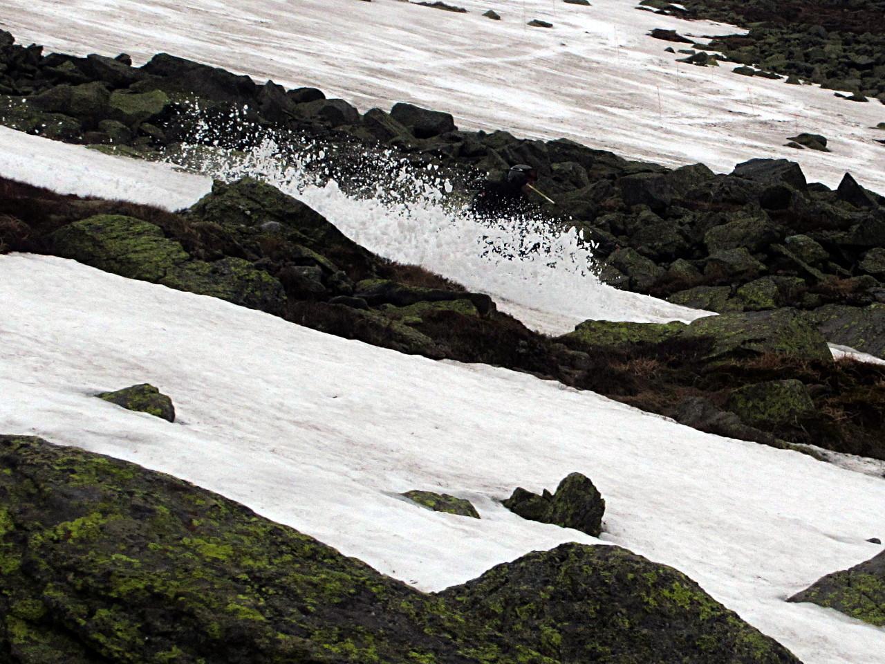 East Snowfields mont Washington