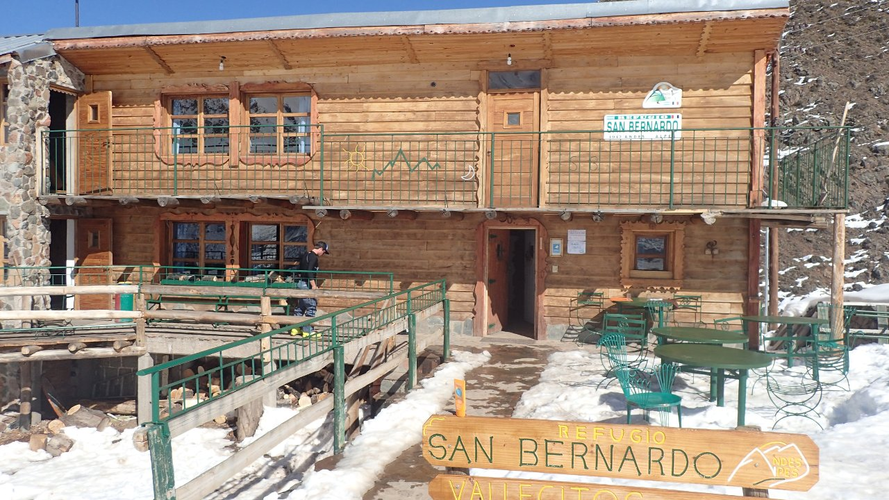Le refuge de San Bernado à Vallecitos