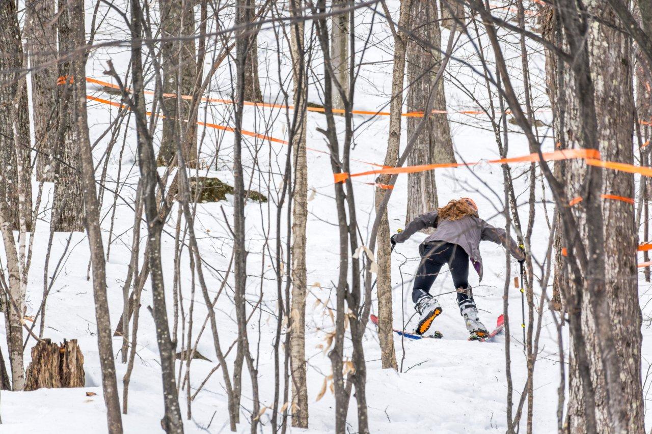 Xalibu ski à l'oeuvre