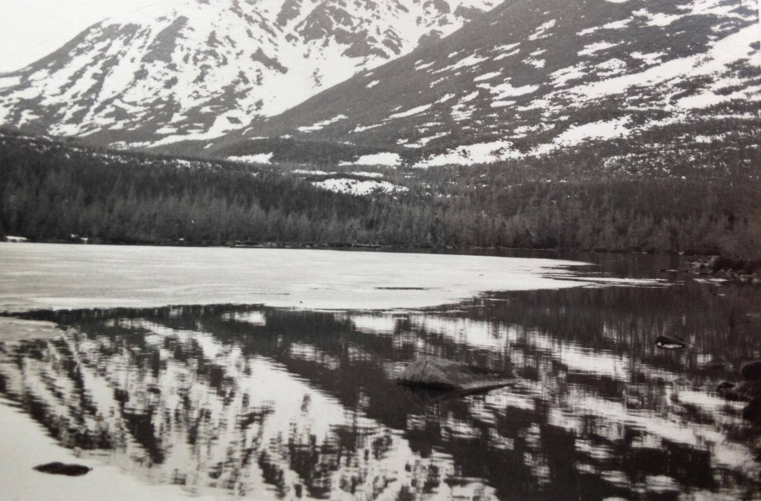 Le lac du Diable et le mont Albert