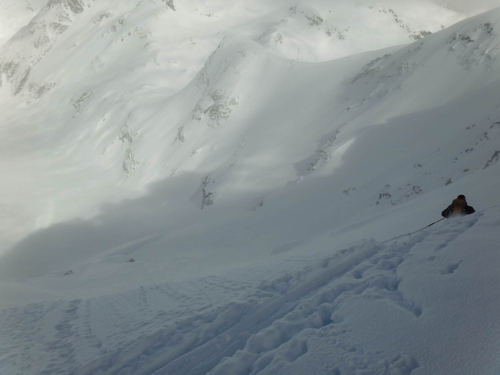 Face nord du Mont Fitzsimons, Whistler