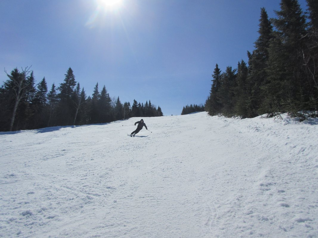 Ski en cours de test