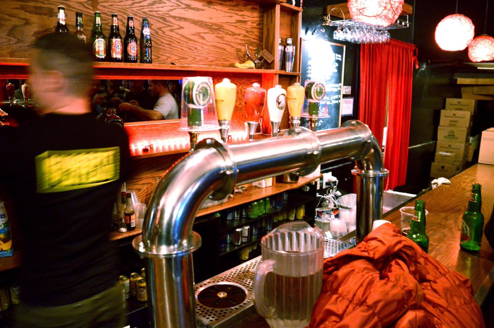 Le bar de la Sala Rossa