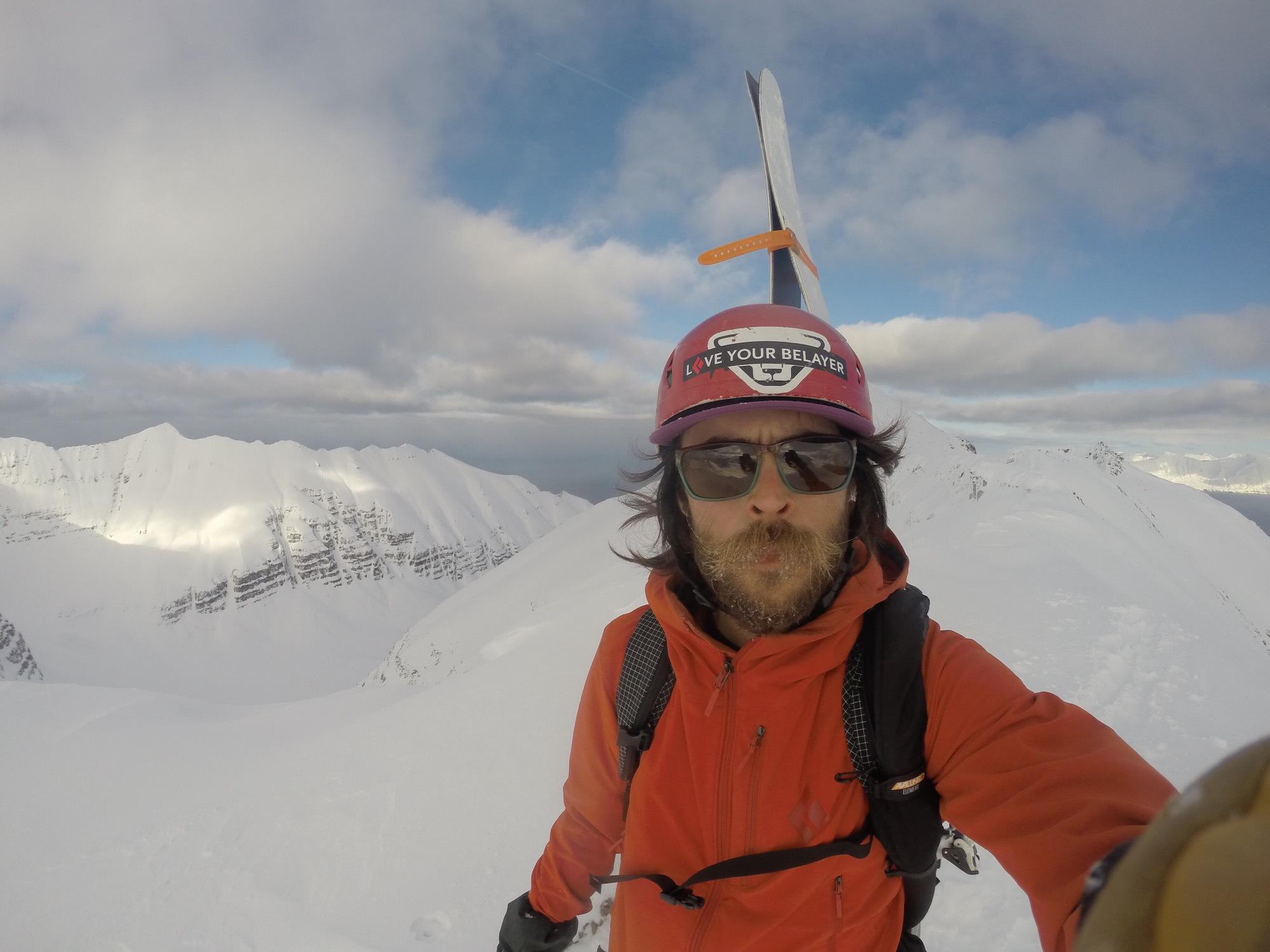 Islande Selfie Félix