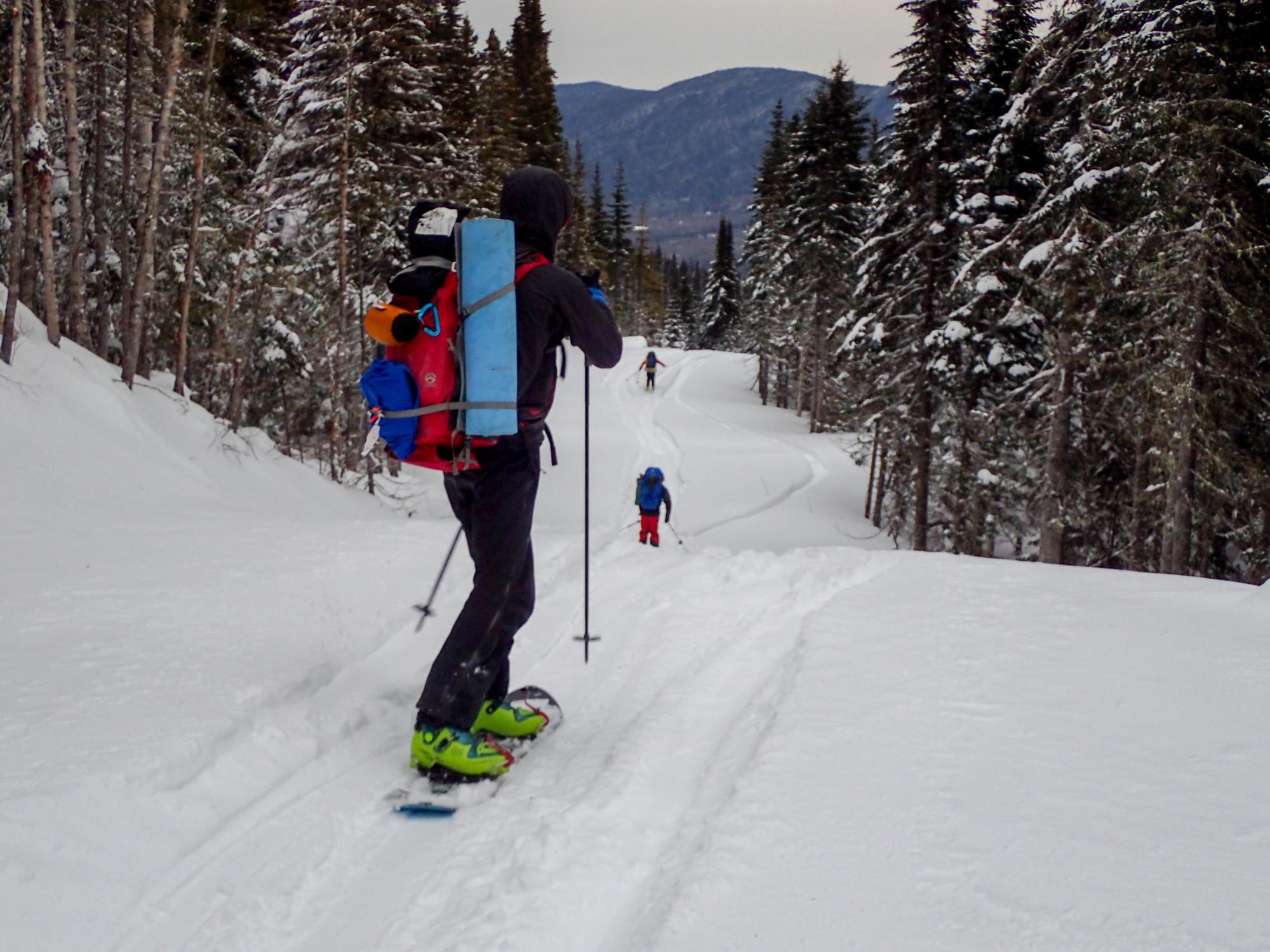 Départ en ski
