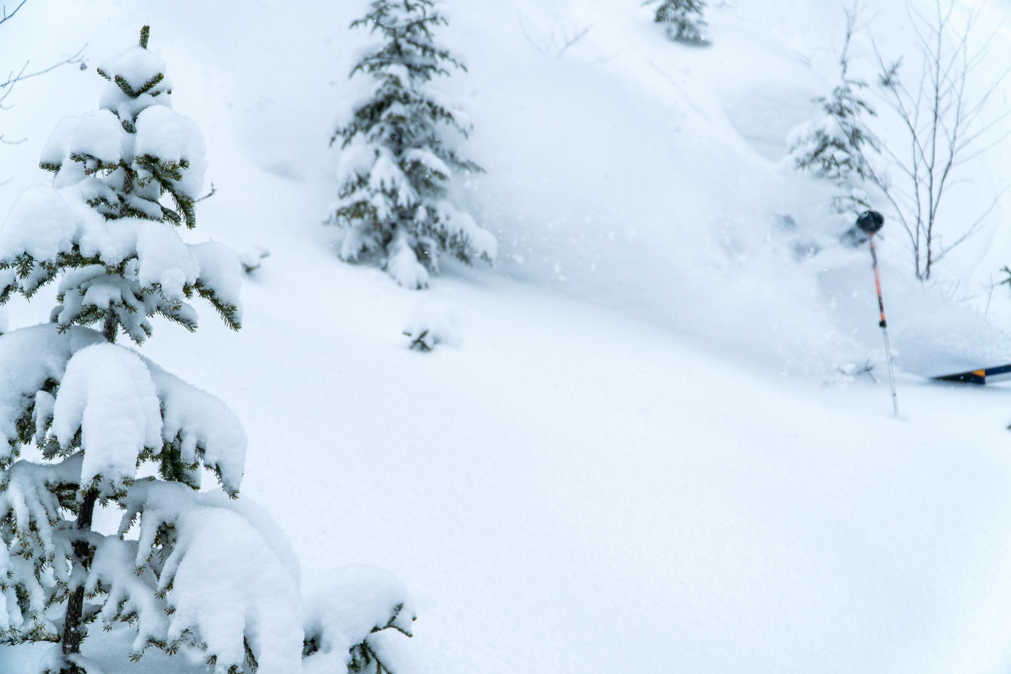 Disparition de Jérôme Guay sous la neige