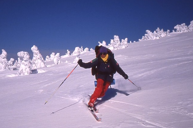 Mont Blanc a 30ans