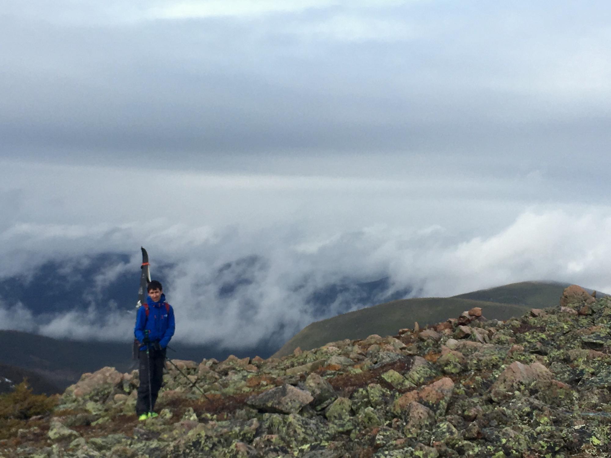 Pause au sommet des Mines Madeleines avec Philippe Bouchard