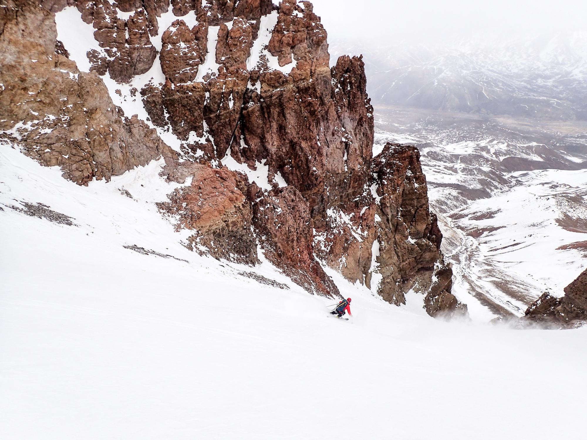 Skier dans ses lignes majestueuses